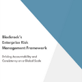 BlackRock's Enterprise Risk Management Framework: Driving Accountability and Consistency on a Global Scale
