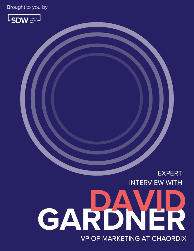 Expert Interview Series: David Gardner, VP of Marketing at Chaordix