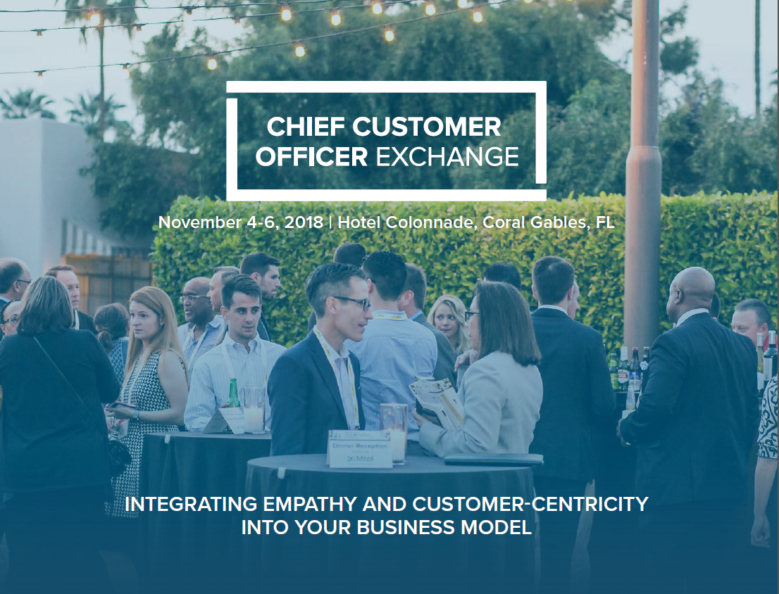 Event Guide: Chief Customer Officer Exchange