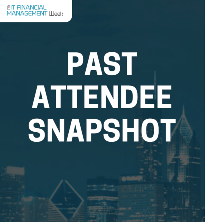IT Financial Management Past Attendee Snapshot