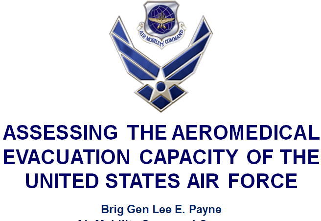 Assessing the aeromedical evacuation capacity of the United states Air Force