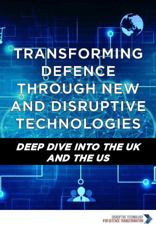 Transforming defence through new and disruptive technologies