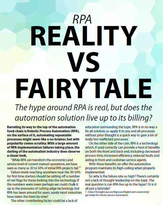 RPA v.s Fairytale