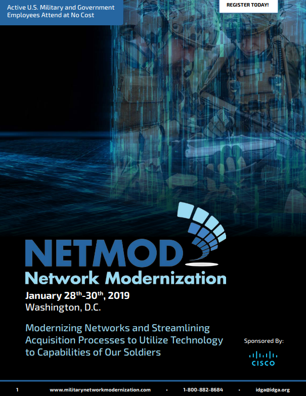 Network Modernization - Access the Agenda