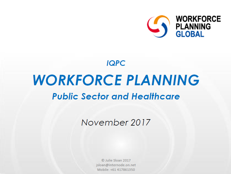 Strategic and operational workforce planning expectations for HR professionals.