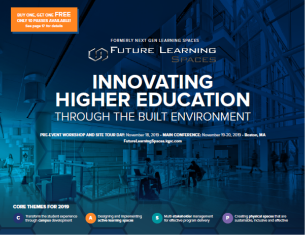 Future Learning Spaces 2019 Event Guide
