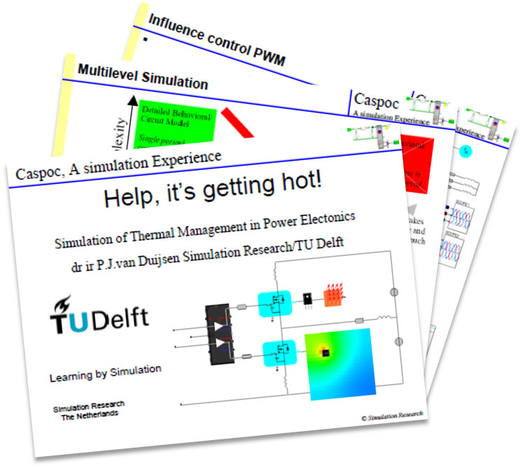 TU Delft Presentation on Simulation of Thermal Management