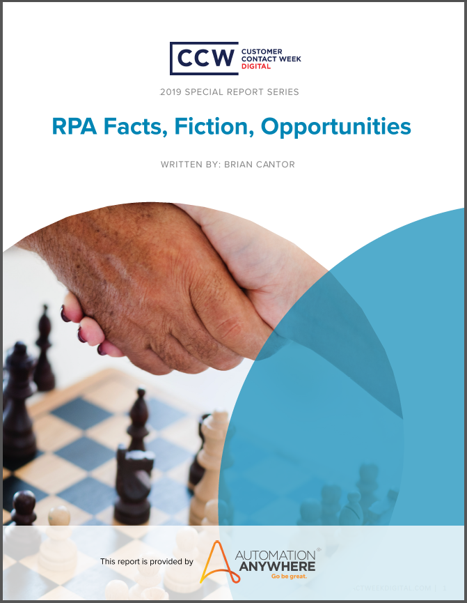Special Report: RPA Facts, Fiction, Opportunities