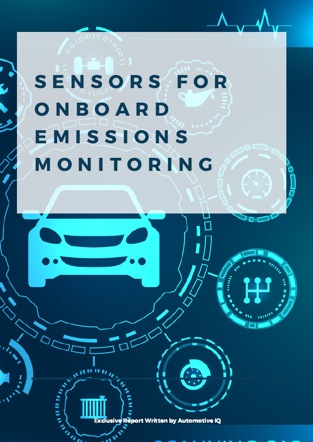 Report on Sensors for Onboard Emissions Monitoring