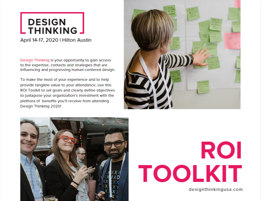ROI Toolkit - Design Thinking 2020