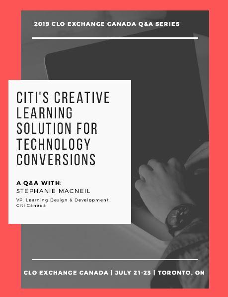 Exclusive Q&A: Citi's Creative Learning Solution for Technology Conversion
