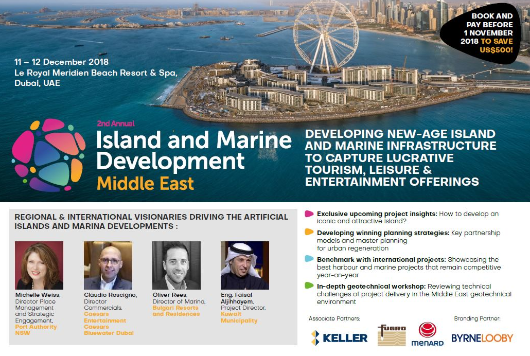 Brochure: 2nd Annual Island & Marine Development Middle East