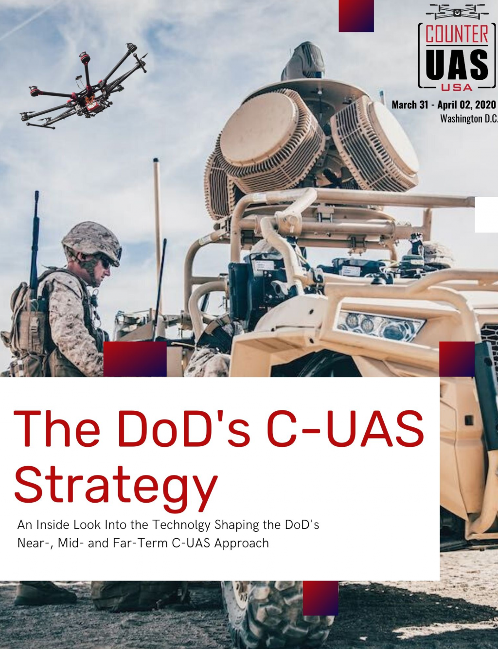 The Current & Future State of the DoD's Counter UAS Strategy