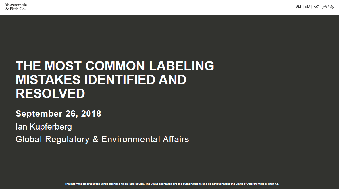 The Most Common Labeling Mistakes Identified and Resolved