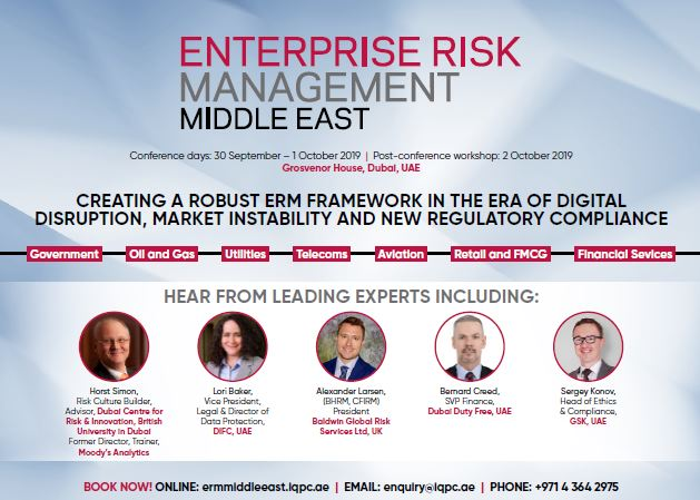 Brochure: Enterprise Risk Management Middle East