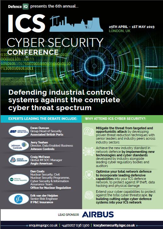 Latest ICS Cyber Security Event Guide