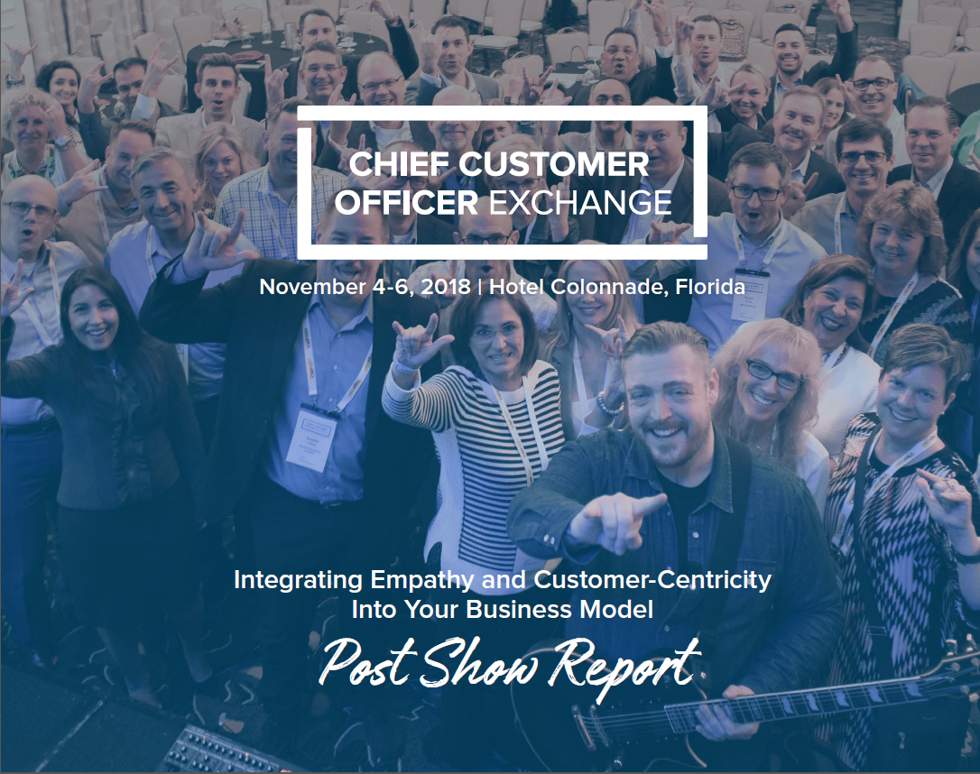 Chief Customer Officer Exchange Post Show Report