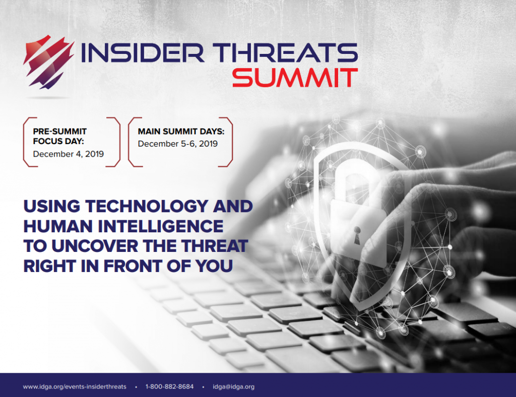 Insider Threats Summit Official Agenda