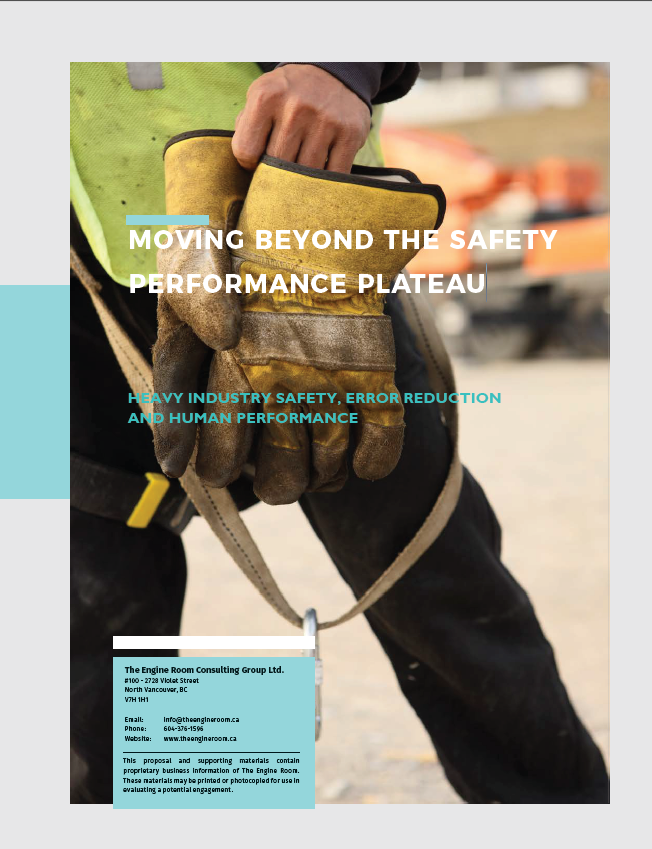 MOVING BEYOND THE SAFETY PERFORMANCE PLATEAU