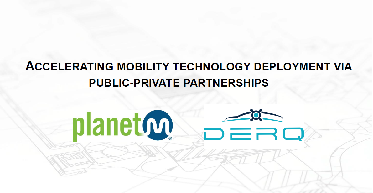 Accelerating Mobility Technology Deployment Via Public-Private Partnerships