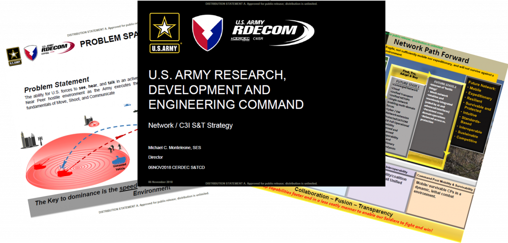 U.S. Army Research, Development And Engineering Command - Mr Michael C. Monteleone, SES