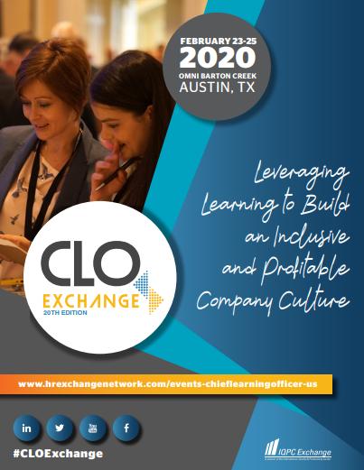 CLO Exchange 2020 Agenda