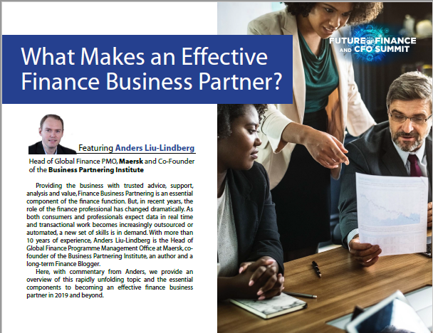 What Makes an Effective Finance Business Partner?