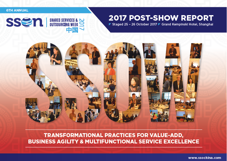 2017 Shared Services & Outsourcing China Week Post Show Report