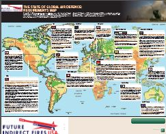 Global Air Defense Requirements Map