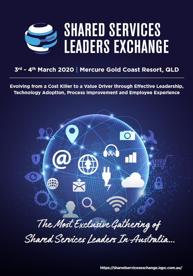 Event Agenda for Shared Services Leaders Exchange 2020