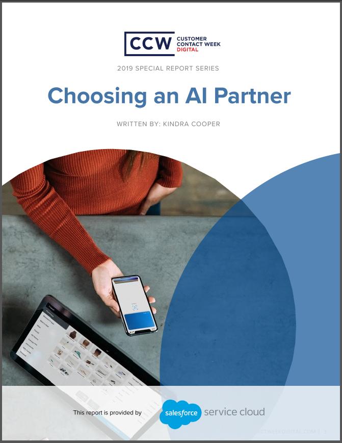 Special Report: Choosing an AI Partner