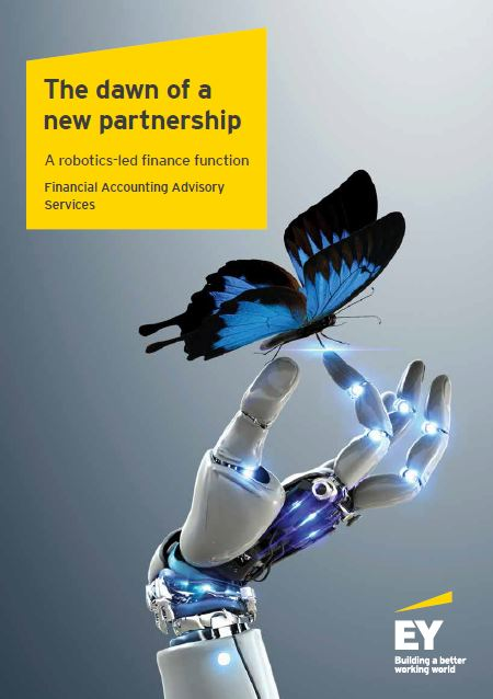 Robotics-led finance function by EY