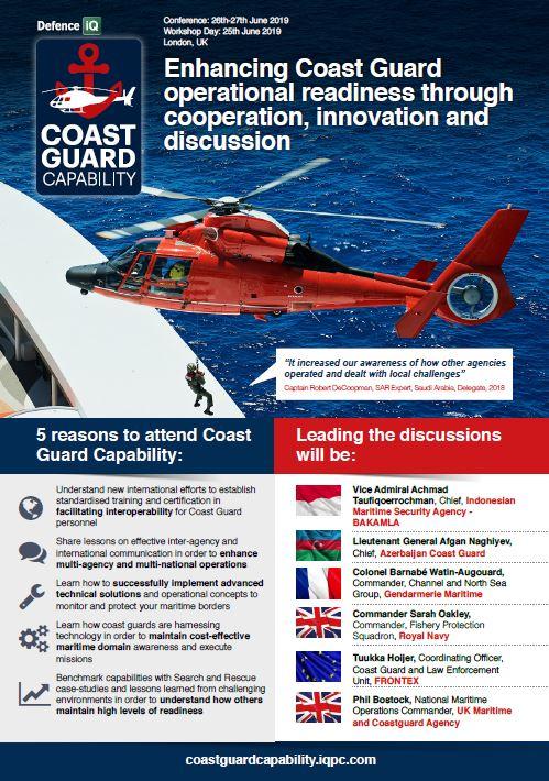 Coast Guard Capability 2019 Programme