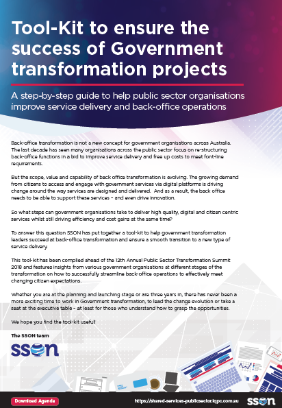 Tool-kit to Ensure the Success of Government Transformation Projects