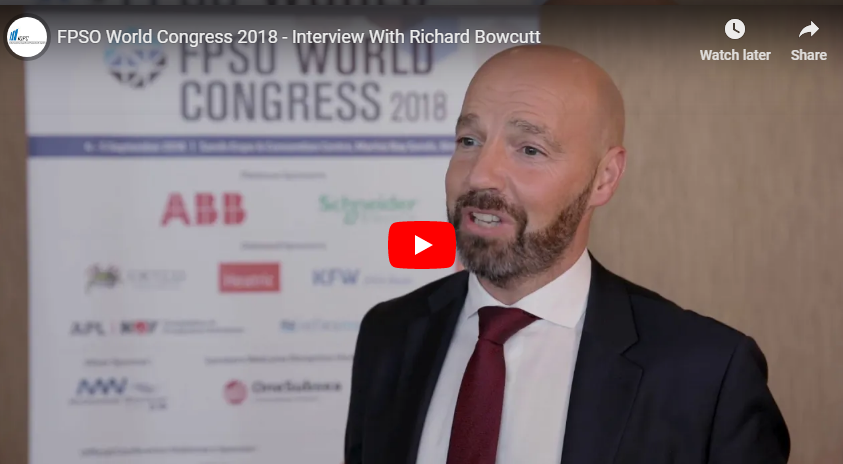 FPSO World Congress 2018 - Interview With Richard Bowcutt From Heatric
