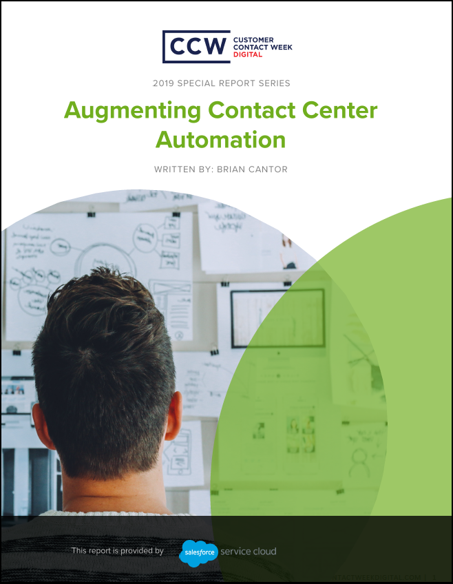 SPEX - Special Report: Augmenting Contact Center Automation