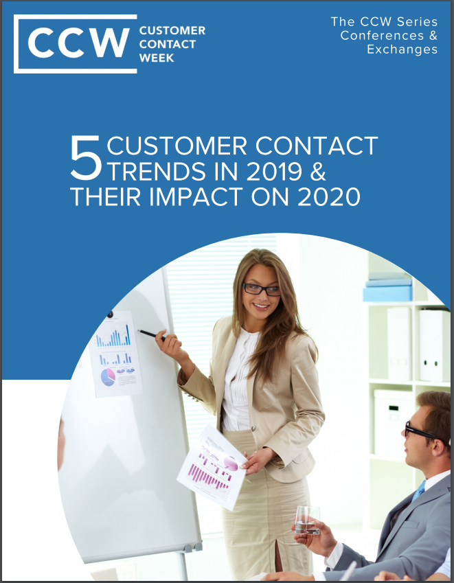 5 Customer Contact Trends in 2019 & Their Impact on 2020