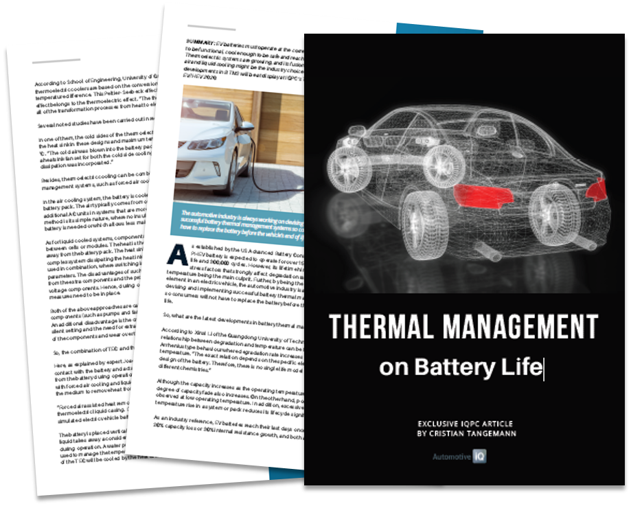 What are the Latest Developments in Battery Thermal Management Systems?