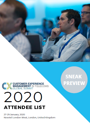 2020 Attendee List Sneak Preview - CEM in Telecoms Global