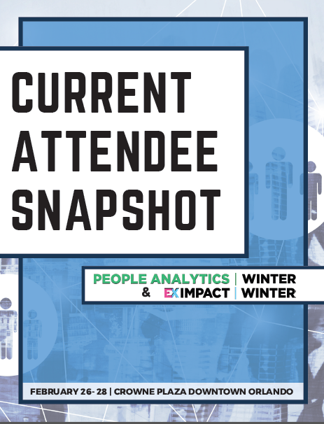 Current Attendee Snapshot: People Analytics Winter 2020