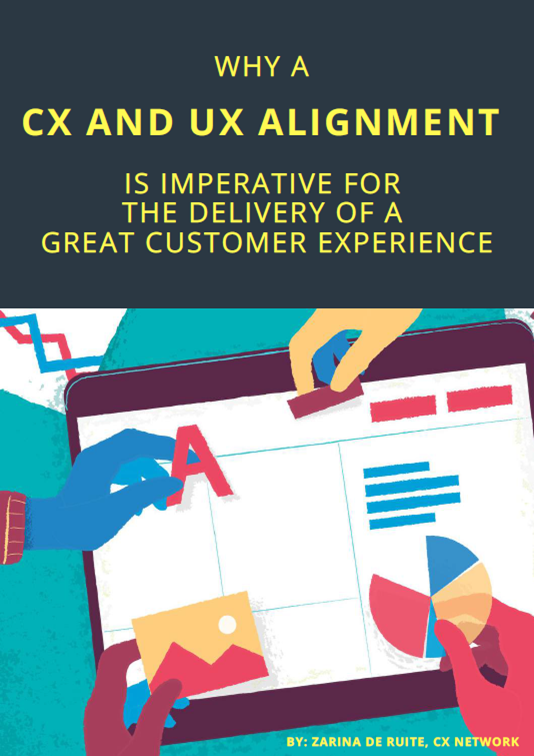 Report on Why a CX and UX Alignment
