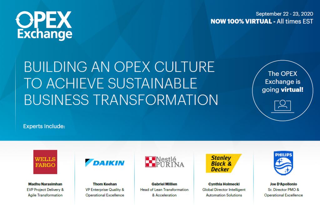 2020 Agenda: OPEX Exchange Americas