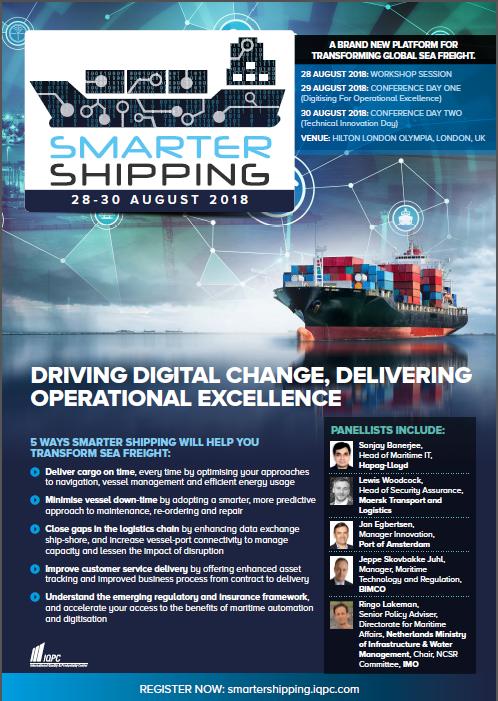 Smarter Shipping Agenda 2018