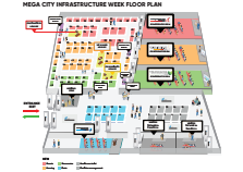 Mega City Infrastructure Week 2020: Exhibitor Floor Plan