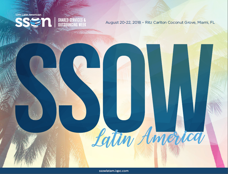 Shared Services & Outsourcing Week Latin America Brochure