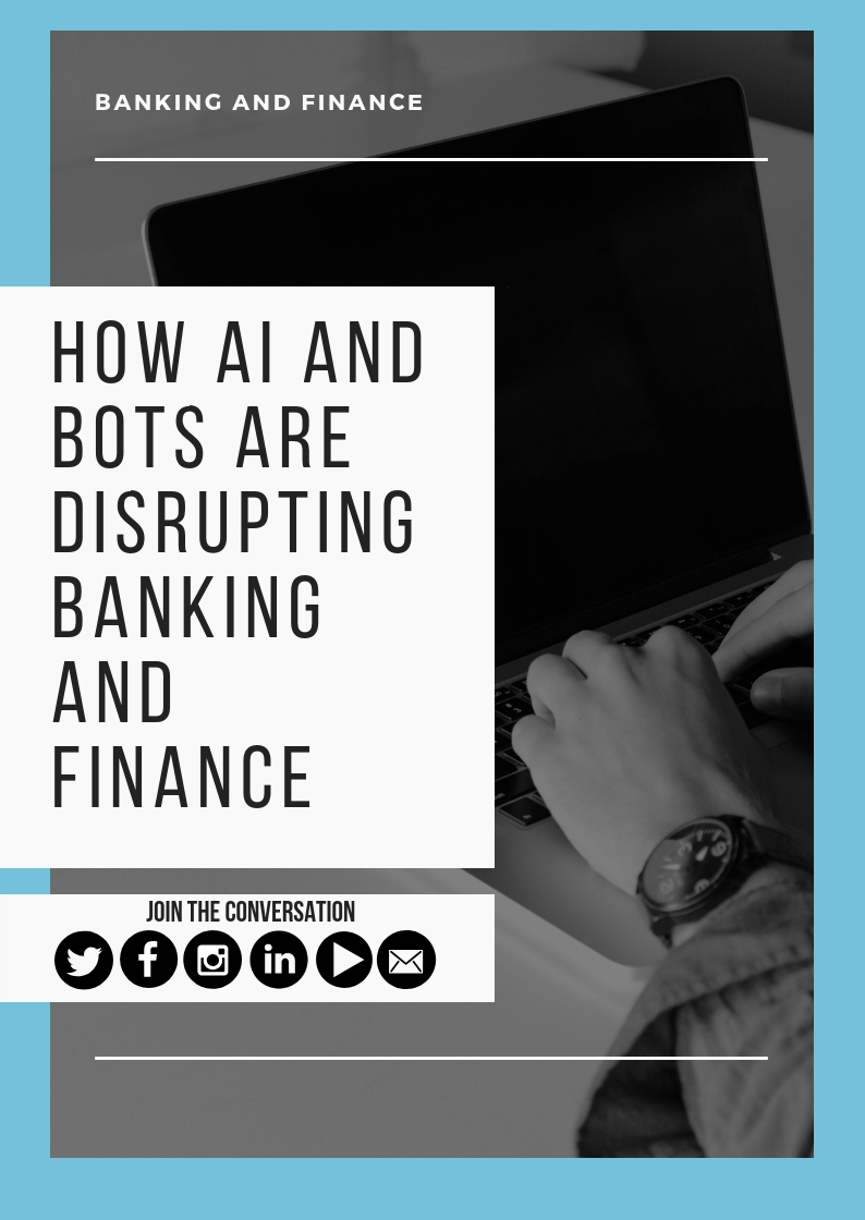 How AI and Bots are Disrupting the Banking Industry