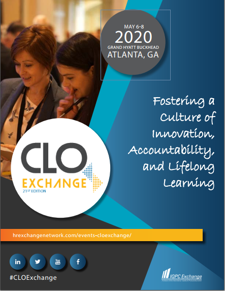 Download the 2020 CLO Exchange Agenda