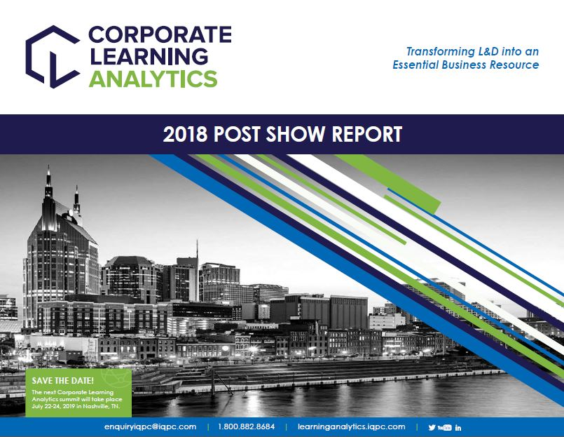 2018 Corporate Learning Analytics Wrap Up Report