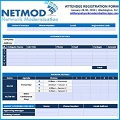 Registration Form NETMOD 2019