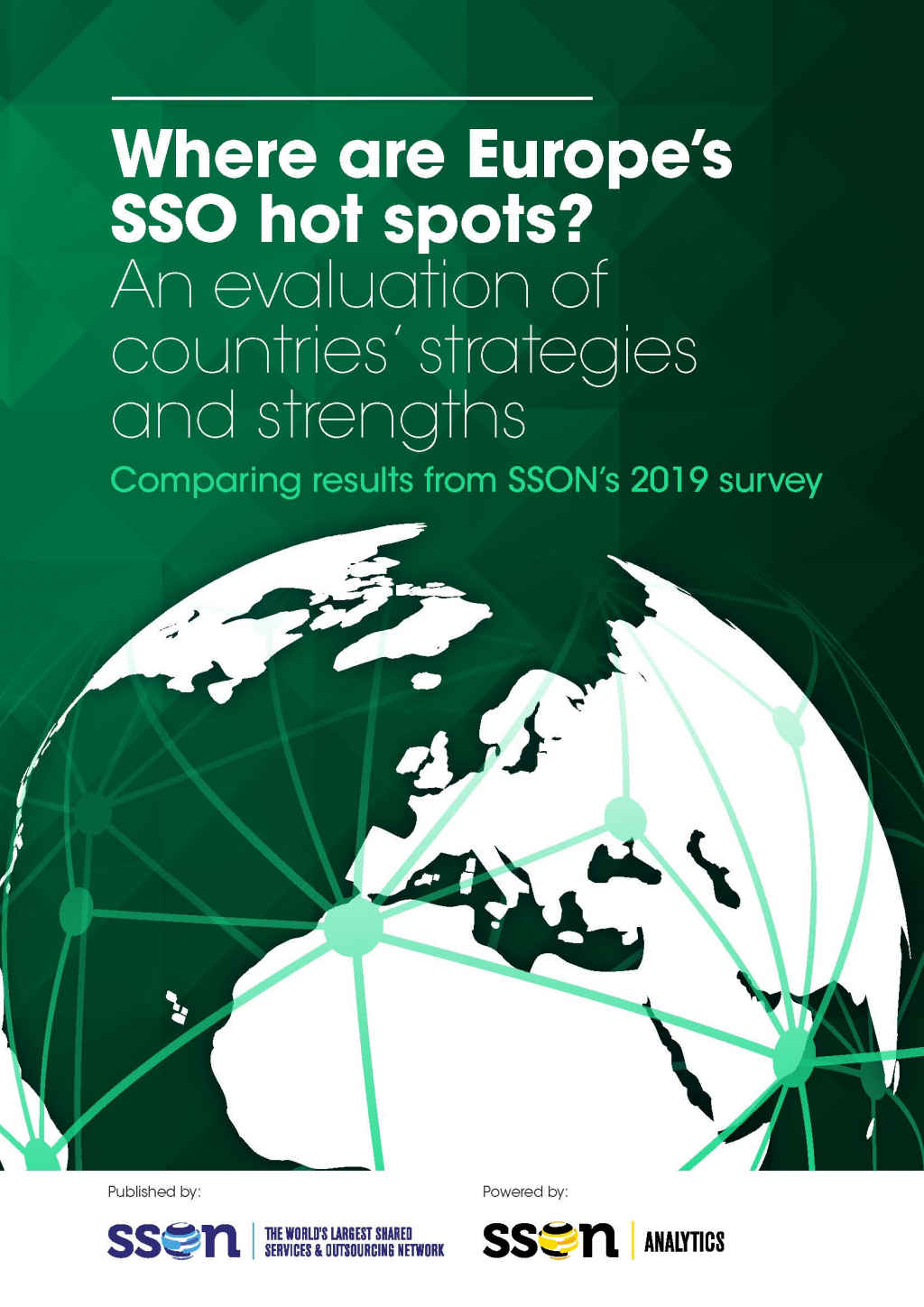 Where are Europe's SSO hot spots? An evaluation of countries' strategies and strengths